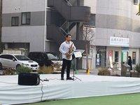 環境問題イベントin前橋で演奏してきました