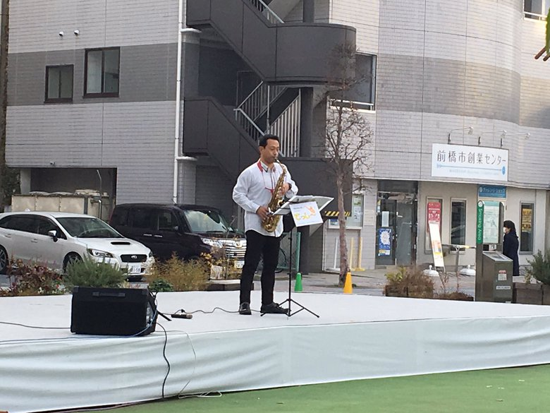 7/22&23前橋中央イベント広場で演奏します
