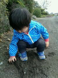 泥んこ…お散歩♪