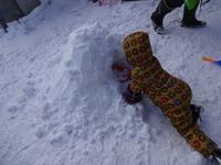 毎日、雪遊び