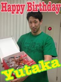 Happy Birthday☆Yutaka