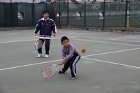 親子テニス大会の結果です