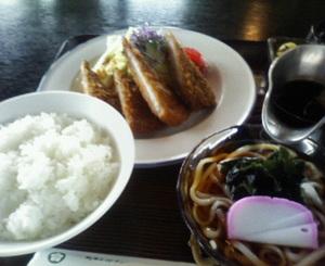 外まわりびとの昼飯