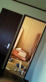 ドアが〜〜〜!!