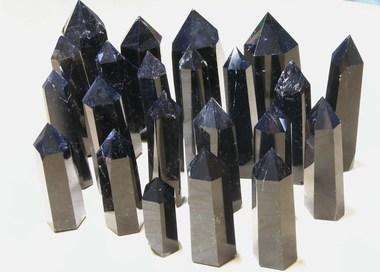 モリオン(黒水晶)原石到着♪