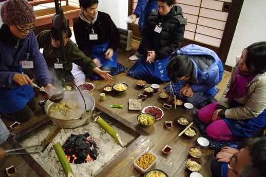 「冬の山里に行こうツアー」報告 上野村 山の恵みでまんぷく編