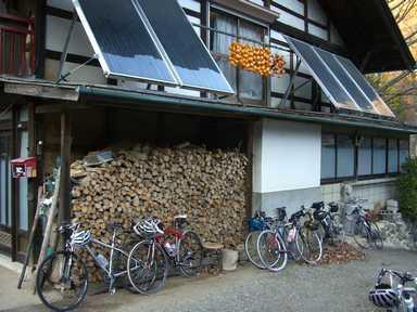 自転車ツアーが上野村で開催されました