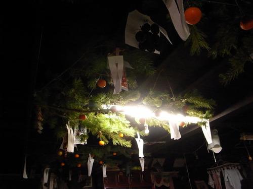 上野村 民家のお正月飾り