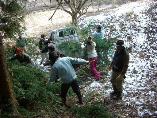 冬の山里に行こうツアーイベント 大好評でした