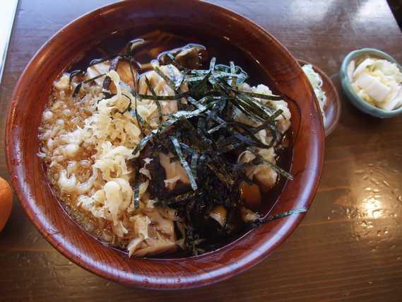 上野村の蕎麦の福寿庵