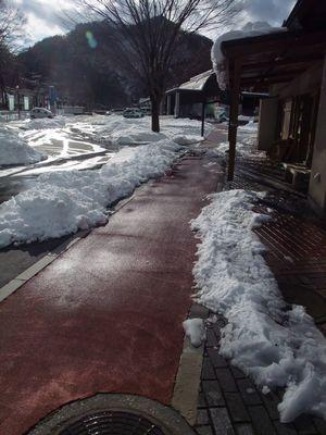 雪の体験館