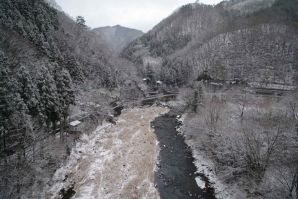 雪の上野村