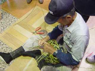笹編み開催します。