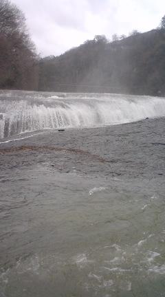 『吹割の滝開きと安全祈願祭』が行われました。