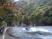 秋の吹割の滝