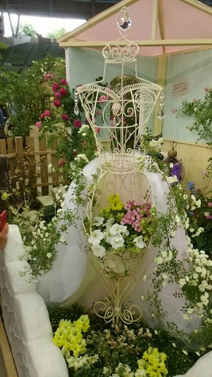 「国際バラとガーデニングショウ」で北高入賞!