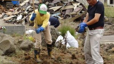 被災地支援ボランティア活動報告